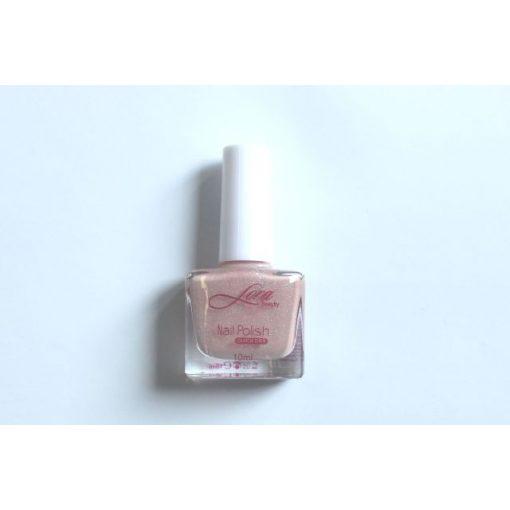 Csillogós-rózsaszín színű körömlakk (francia alap) (10 ml)