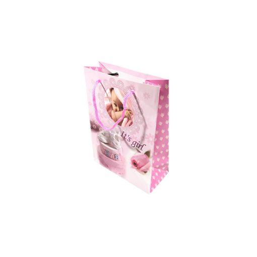 Mini ajándéktasak, baby rózsaszín