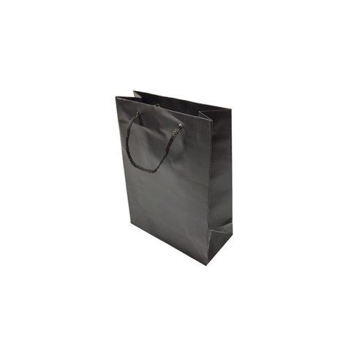 Mini ajándéktasak, fekete
