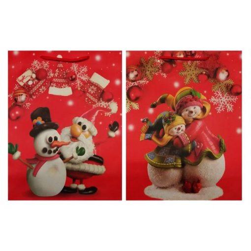 Hóemberes-manós karácsonyi ajándéktasak, normál