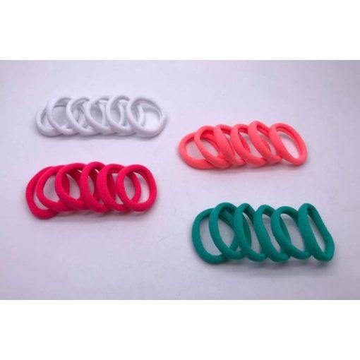 Hajgumi csomag, mini, színes (6 db)