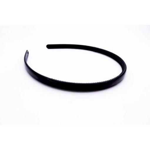 Hajráf fekete fényes (0,8 cm)