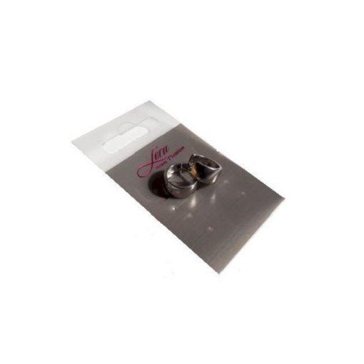 Fülbevaló vastag karika (1,2 cm)