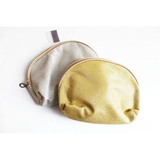 Kicsi arany/ezüst kozmetikai táska