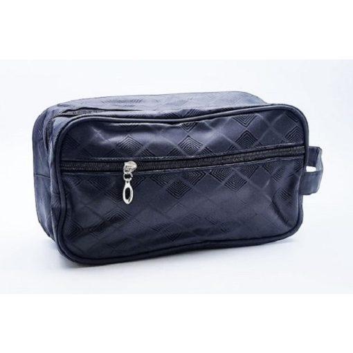 Kozmetikai táska kockás 26x10x15cm