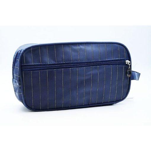 Kozmetikai táska  kockás 25,5x14,5x9,5cm